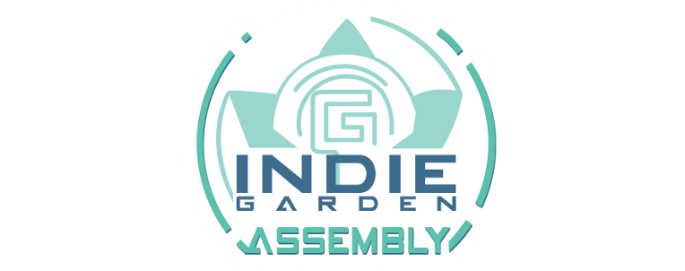 logo indie garden assembly